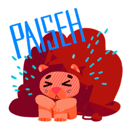 Maju Lion Facebook sticker #12