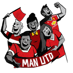 Stickers de Facebook Manchester United
