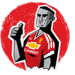 Manchester United Facebook sticker #5