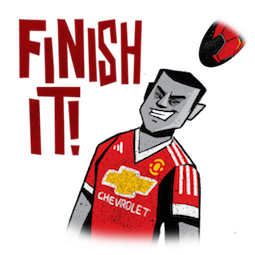 Manchester United Facebook sticker #16