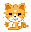 Mango Facebook sticker #2