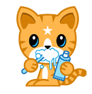 Mango Facebook sticker #36