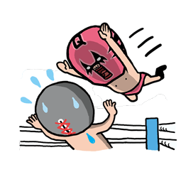 Masked Wrestler Q Facebook sticker #4