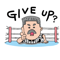 Masked Wrestler Q Facebook sticker #8