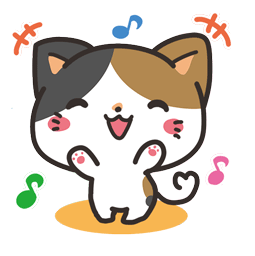 Meow Town Facebook sticker #1
