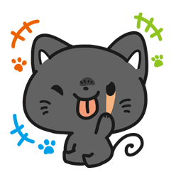 Meow Town Facebook sticker #5