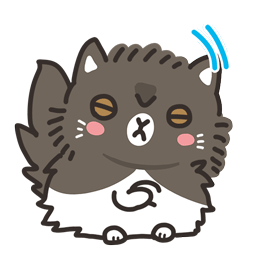 Meow Town Facebook sticker #14