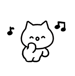 Meowy Facebook sticker #2