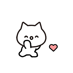 Meowy Facebook sticker #3