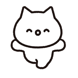 Meowy Facebook sticker #6