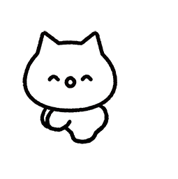 Meowy Facebook sticker #7