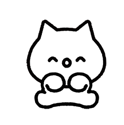 Meowy Facebook sticker #8