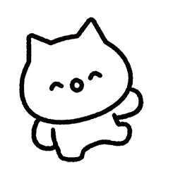 Meowy Facebook sticker #9