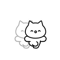 Meowy Facebook sticker #11