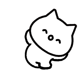 Meowy Facebook sticker #12