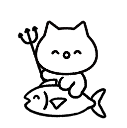 Meowy Facebook sticker #18