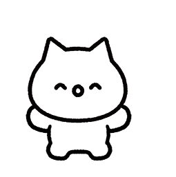 Meowy Facebook sticker #19
