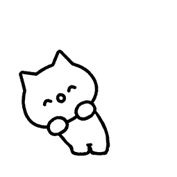 Meowy Facebook sticker #23
