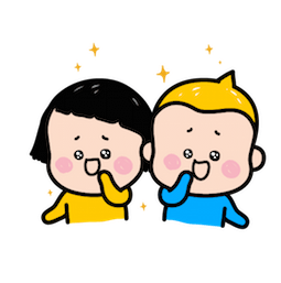 Sticker de Facebook / Messenger MiM & Yam #12