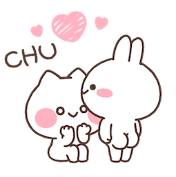 Facebook / Messenger Mimi and Neko sticker #6