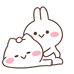 Mimi and Neko Together Facebook sticker #10