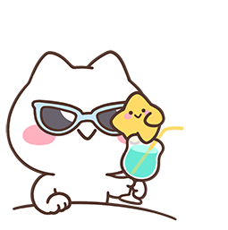 Mimi and Neko Together Facebook sticker #14
