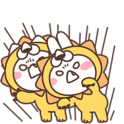 Mimi and Neko Together Facebook sticker #21