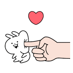 Mini Usagyuuun Facebook sticker #2