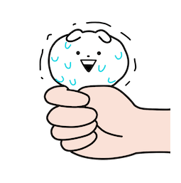 Mini Usagyuuun Facebook sticker #5