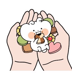 Mini Usagyuuun Facebook sticker #16