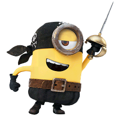 Los Minions Facebook sticker #3