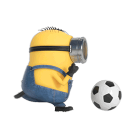 Los Minions Facebook sticker #6