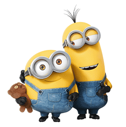 Los Minions Facebook sticker #13
