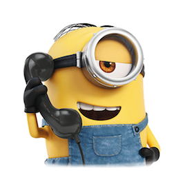 Los Minions Facebook sticker #15