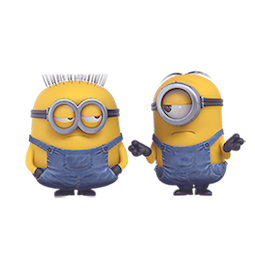 Los Minions Facebook sticker #19