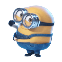 Los Minions Facebook sticker #20
