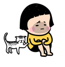 Mobile Girl, MiM Facebook sticker #5