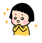 Mobile Girl, MiM Facebook sticker #6