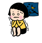 Mobile Girl, MiM Facebook sticker #8