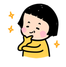 Mobile Girl, MiM Facebook sticker #11