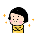 Mobile Girl, MiM Facebook sticker #18