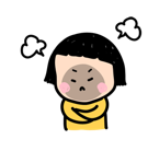 Mobile Girl, MiM Facebook sticker #20