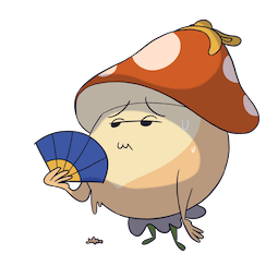 Facebook More Little Mushroom stickers