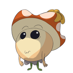 More Little Mushroom Facebook sticker #10