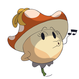 More Little Mushroom Facebook sticker #12