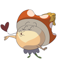 More Little Mushroom Facebook sticker #13