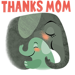 Motherly Love Facebook sticker #2
