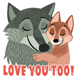 Motherly Love Facebook sticker #10