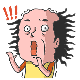 Mr. Baldy & seine Freunde Facebook sticker #14