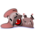 Mugsy Facebook sticker #1